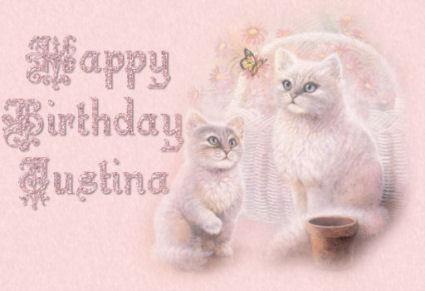 Happy Birthday Justina
